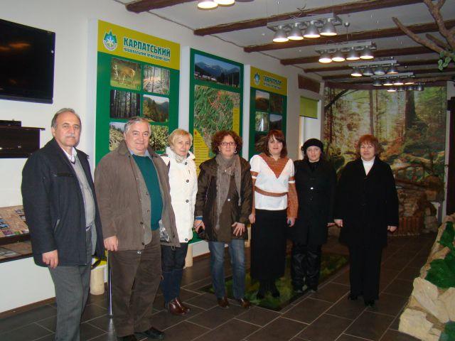 Зустріч партнерів проекту 'Гармонізація розвитку туризму в сільській місцевості Карпатського регіону'. Фото 1