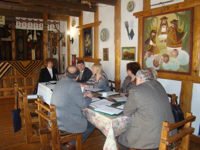 Засідання Наглядової ради проекту 'Гармонізація розвитку туризму в сільській місцевості Карпатського регіону'. Фото 1