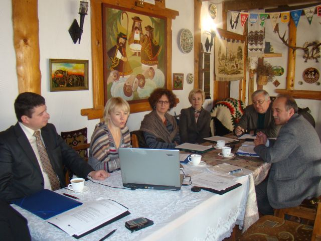 Засідання Наглядової ради проекту 'Гармонізація розвитку туризму в сільській місцевості Карпатського регіону'. Фото 2