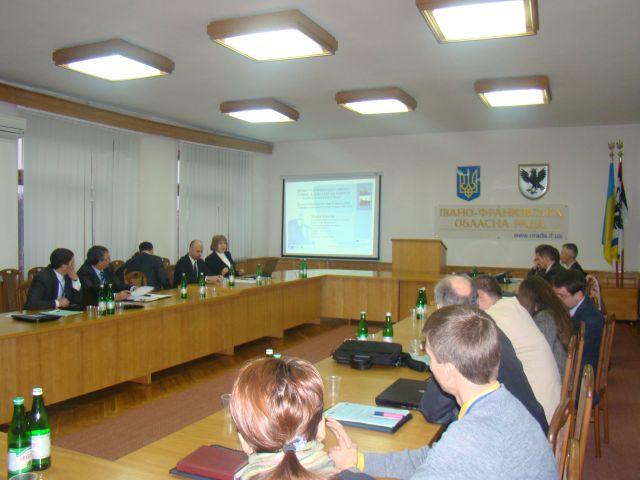 Презентація проекту 'Гармонізація туризму в сільській місцевості Карпатського регіону' на Міжнародному інвестиційно-економічному форумі 'Партнерство та Перспектива'. Фото 1