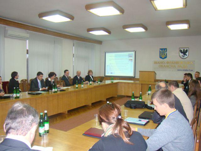 Презентація проекту 'Гармонізація туризму в сільській місцевості Карпатського регіону' на Міжнародному інвестиційно-економічному форумі 'Партнерство та Перспектива'. Фото 2